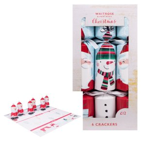 Waitrose Santa Race Crackers