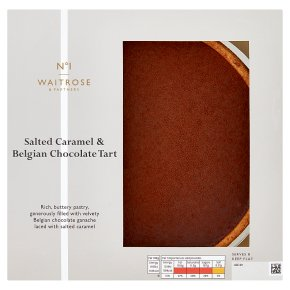 No.1 Salted Caramel & Chocolate Tart