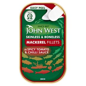 John West Mackerel Fillets TomatoChilli