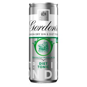 Gordon's Gin & Slimline Tonic