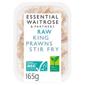 essential Waitrose Raw King Prawns