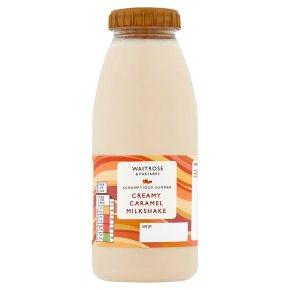 Waitrose Creamy Caramel Milkshake