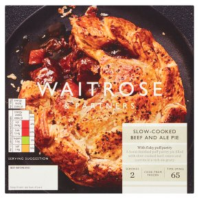 Waitrose Slow-Cooked Beef & Ale Pie