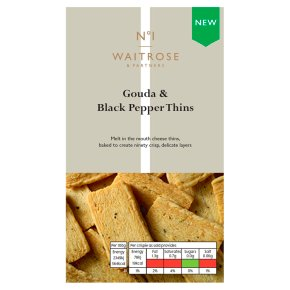 No.1 Gouda & Black Pepper Thins