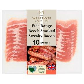 No.1 Beech Smoked Streaky Bacon