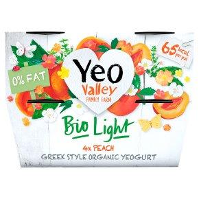 Yeo Valley Bio Light Peach