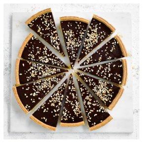 Chocolate & Hazelnut Tart