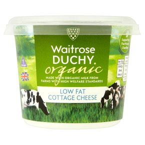 Waitrose Duchy Organic Low Fat Cottage Cheese