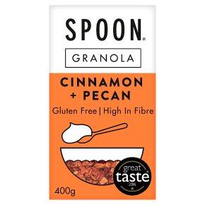 Spoon Granola Cinnamon + Pecan