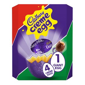 Cadbury Creme Egg Giant Chocolate Easter Egg