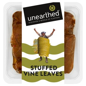 Unearthed Sweet & Spicy Stuffed Vine Leaves