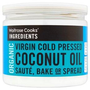 Waitrose Cooks' Ingredients cold pressed coconut oil