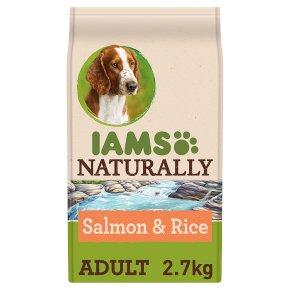 Iams Naturally with Salmon & Rice