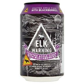 Elk Warning Blackberry Sweden