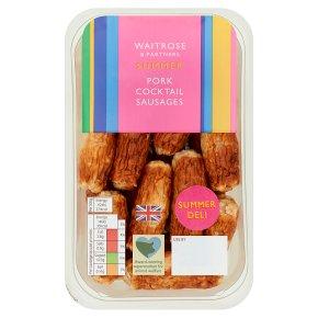 Waitrose Pork Cocktail Sausages