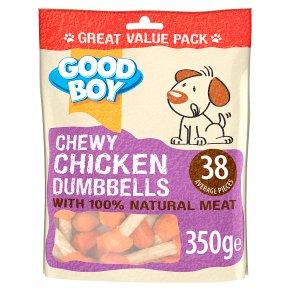 Good Boy Chicken Dumbbells