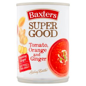 Baxters Super Good Tomato, Orange and Ginger Soup