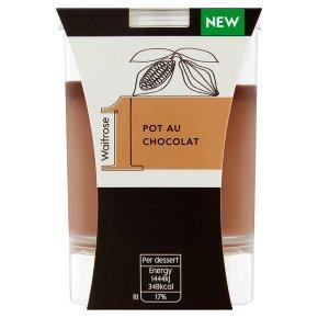 Waitrose 1 Pot au Chocolat