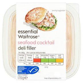 essential Waitrose Seafood Cocktail Deli Filler