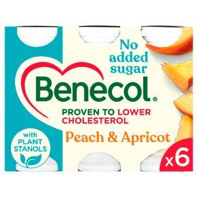 Benecol No Added Sugar Peach & Apricot