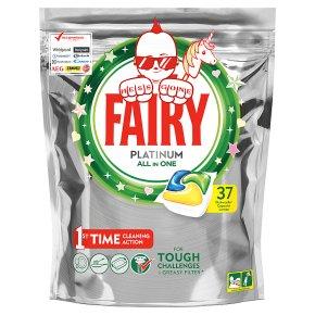 Fairy 37 Platinum Capsules Lemon