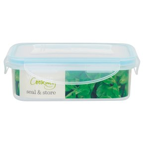 Waitrose Seal & Store 0.5 litre rectangle container