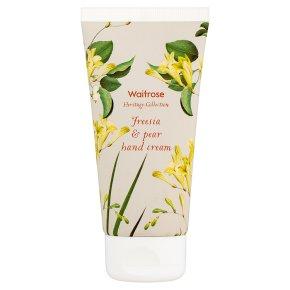 Waitrose Heritage Freesia Hand Cream