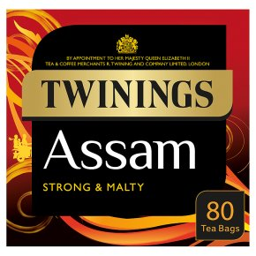 Twinings assam 80 tea bags