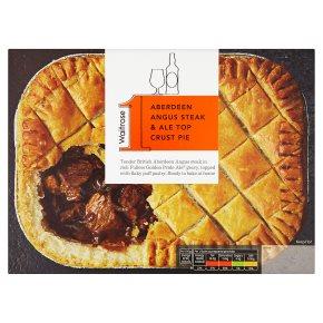 Waitrose 1 Aberdeen angus steak & ale pie