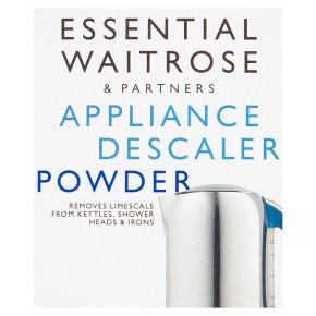 essential Waitrose appliance descaler powder sachet