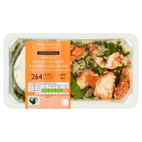 Waitrose LoveLife Calorie Controlled harissa chicken & tabbouleh salad