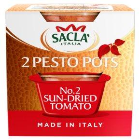 Sacla' Sun-dried Tomato Pesto Pots