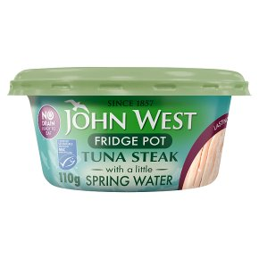 John West MSC No Drain Tuna Steak in Spring Water