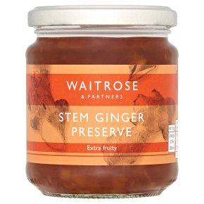 Waitrose Stem Ginger Preserve
