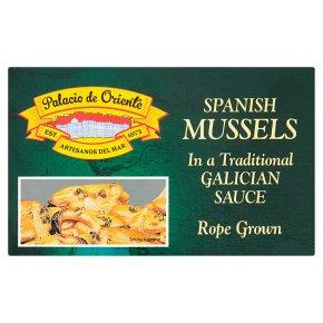 Palacio de Oriente Spanish Mussels in Galician Sauce
