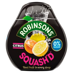 Robinsons squash'd citrus no added sugar