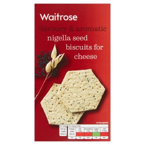 Waitrose Nigella Seed Biscuits for Cheese