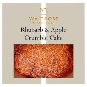 Waitrose 1 apple blackcurrant crumble cake