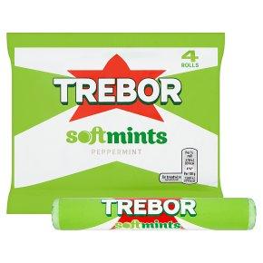 Trebor Softmints peppermint mints 4 pack