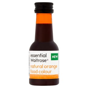 essential Waitrose Orange Food Colour