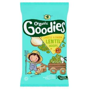 Organix Goodies Lentil Hoops