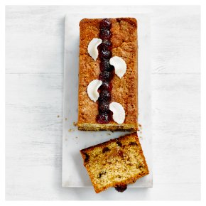 Fiona Cairns Cherry & Marzipan Loaf Cake