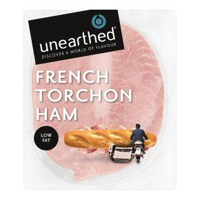 Unearthed French torchon ham, 3 slices