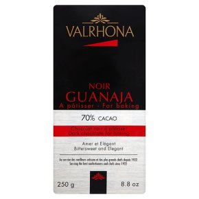 Valrhona noir guanaja 70% cacao