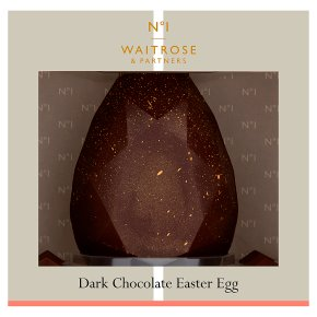 Waitrose 1 Dark Chocolate Easter Egg