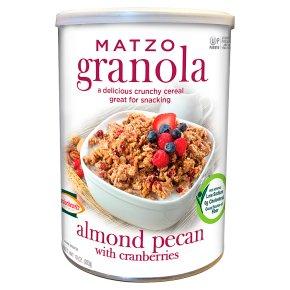 Matzo Granola Almond Pecan