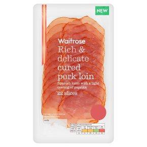 Waitrose Cured Pork Loin 22 slices