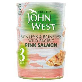 John West Skinless & Boneless Pink Salmon