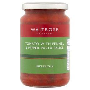 Waitrose Tomato Fennel Pepper Pasta Sauce