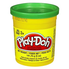 Play-Doh tubs, assorted